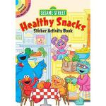 【预订】Sesame Street Healthy Snacks Sticker Activity Book