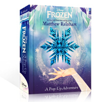 英文原版绘本 Frozen: A Pop-Up Adventure 迪士尼Disney冰雪奇缘趣味开拓视野 5-8岁阅