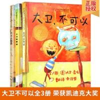 大卫不可以绘本系列全套3册正版包邮精装 大卫不可以+大卫上学去+大卫惹麻烦 0-3-4-6周岁宝宝启蒙幼儿童幼儿园绘本
