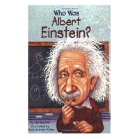【现货】英文原版 Who Was Albert Einstein? 漫画名人传记:阿尔伯特�q爱因斯坦是谁 中小学生读物