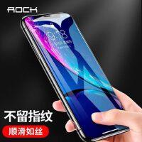 包邮支持礼品卡 ROCK iPhoneXs 钢化膜 苹果 iphone XS Max 抗蓝光 手机贴膜 iPhoneX