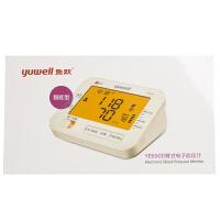 鱼跃电子血压计 YE-690D 臂式语音家用血压仪 双人记忆+背光+语音播报,心律不齐 误动作提示,臂带佩戴检测