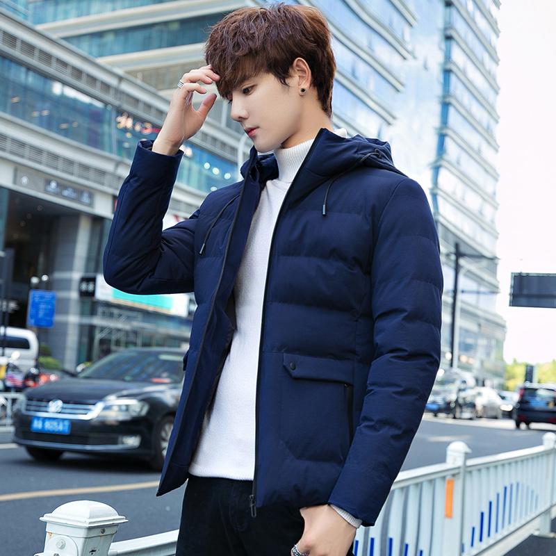 棉衣男士冬季外套短款韩版潮流青年棉袄休闲羽绒棉服时尚男装衣服
