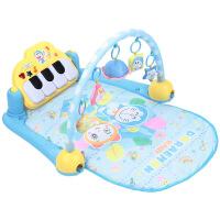 哆啦A梦婴儿脚踏钢琴健身架3-6-12个月 0-1岁宝宝健身器音乐玩具 蓝