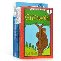 英文原版 I Can Read Level 1 系列 汪培�E推荐书单 第一阶段12册全套 0-3-6岁低幼儿童英语启蒙
