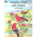 【预订】Hawaiian Plants and Animals Coloring Book