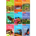 (100减20)【L1】Kingfisher readers 翠鸟分级读物系列 9册合售 儿童分级读物STEM课外教辅