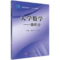 大学数学--微积分 9787030316387 科学出版社
