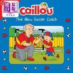 【中商海外直订】Caillou: The New Soccer Coach: Memory Match Game In