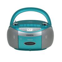 熊猫/PANDA CD-830蓝牙无线音响收录音机胎教CD机磁带插卡U盘TF卡转录播放机 蓝