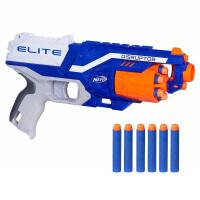 NERF热火精英系列男孩玩具枪软弹枪枪电动发射器玩具儿童节礼物 标准配置