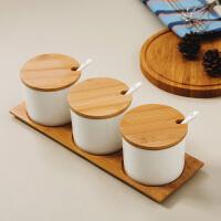 【当当自营】SKYTOP斯凯绨 陶瓷骨瓷调味罐 白瓷