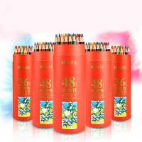 晨光水溶性彩色铅笔小学生美术绘画彩铅 24/36/48色儿童填色涂鸦