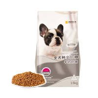 疯狂的小狗 幼犬羊奶奶糕 泰迪中小型犬奶狗 离乳期鸡肉味1-3个月通用型3斤 狗粮