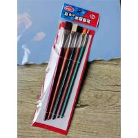 晨光美术水粉笔套装常用5支装学生用美术绘画笔初学者手绘丙烯油画笔