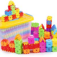 儿童立体数字字母积木拼图 宝宝幼儿小孩早教2-3-4-6周岁玩具