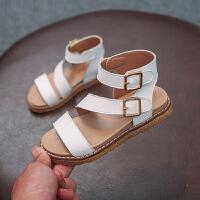儿童凉鞋女夏季时尚女童公主鞋学生平底凉鞋女孩