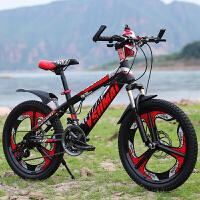 20190708193545985儿童自行车6-15岁学生18/20/24寸一体轮双碟刹减震21速变速山地车 其它