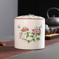 家用大号醒茶罐普洱茶叶盒茶饼罐子装存储茶罐