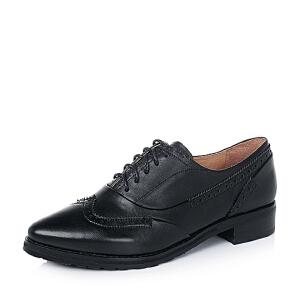 BATA/拔佳小牛皮女单鞋AT224CM6