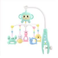 婴儿床铃音乐旋转床头摇铃0-3-6-12个月挂件宝宝风铃玩具男孩女孩