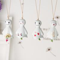 陶瓷风铃风铃挂件挂饰门饰兔子公主风铃女生创意礼品