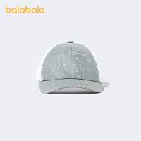 【3件5折价:39.5】巴拉巴拉儿童帽子男童夏季透气时尚潮鸭舌帽棒球帽遮阳潮
