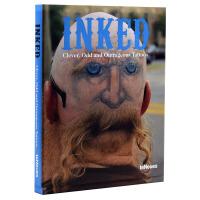 【现货】INKED-CLEVER OUTRAGEOUS TATTOOS 奇异的纹身刺青艺术画册书籍 有趣纹身