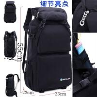 韩版户外登山包双肩女旅行包超轻大容量背包多功能出差旅游书包男