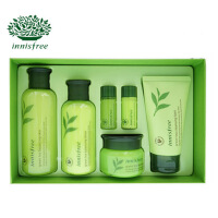 innisfree/悦诗风吟绿茶水乳套装 护肤套盒补水保湿平衡四件套