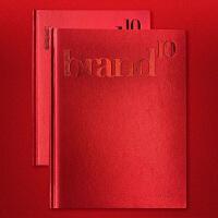 brand 10 品牌设计年鉴第十卷 图形图案色彩配色排版版式包装LOGO视觉案例平面设计书籍
