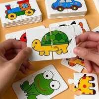 �和�玩具益智配��卡1-3�q4幼�浩�D平�D智力�幽X�⒚稍缃棠泻⑴�孩