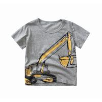 【限时79元2件】男童T恤短袖中大童2020夏季新款纯棉T恤宽松帅气男孩儿童短袖