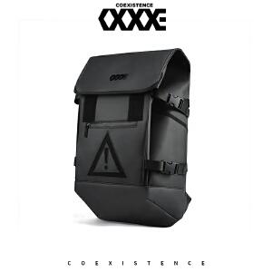 【支持礼品卡支付】COEXISTENCE新款时尚潮流双肩运动学生街头户外背包电脑包31187