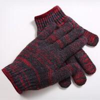 劳保手套尼龙修车加厚棉纱 耐高温 耐磨线手套 手部防护 米