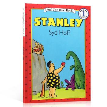 英文原版进口绘本汪培珽私房英文书单1阶段I can read少儿亲子教育An I Can Read Level 1 Stanley 恐龙史丹利