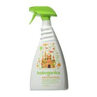 保税区发货 Baby Ganics/宝贝甘尼克 多用途表面清洁剂 柠檬香 32 fl.oz/946ml 海外购