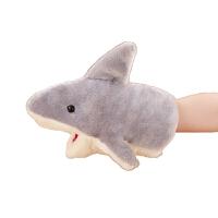毛绒公仔礼物送女生 手指娃娃小动物玩偶 毛绒安抚玩具幼儿园表演小动物手套玩偶嘴巴能动