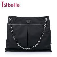Ist belle/百丽箱包春季化纤布单肩手袋C1111AX5