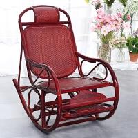摇摇椅午休躺椅休闲椅阳台藤椅老人逍遥椅懒人躺椅
