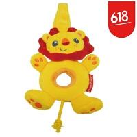 费雪 Fisher-Price 毛绒玩具 狮子王摇铃 响铃幼儿 锻炼宝宝手抓 摇铃-狮子王