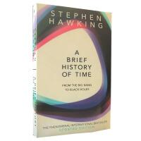 【现货】英文原版 时间简史:从大爆炸到黑洞 BRIEF HISTORY OF TIME 史蒂芬霍金著作 新版平装