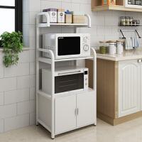 厨房收纳架微波炉烤箱一体置物架子多功能柜子