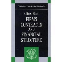 【预订】Firms, Contracts, and Financial Structure