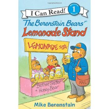 英文原版 I can read 分阶读物 Berenstain Bears' Lemonade Stand贝贝熊的柠檬水站