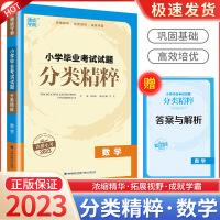 通城学典小学毕业考试试分类精粹小升初数学2021新版