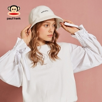 Paul Frank/大嘴猴卫衣2018新款女时尚宽松chic早秋上衣慵懒女