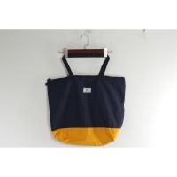 BA0886新款韩版简约单肩水桶包有拉链方便实用女士帆布包