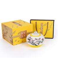 茶盒茶仓一斤装茶叶罐陶瓷大号密封罐醒茶罐礼盒