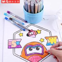 晨光旋转油画棒12色蜡笔儿童绘画24色画笔套装36色涂鸦油画棒